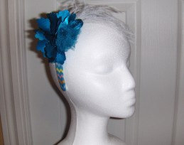 Blue Silver Headband sold $15.00 H