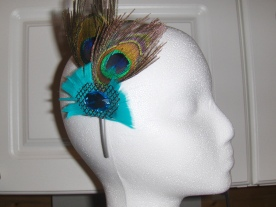 Turquoise Peacock $20.00 H