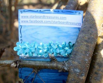 Blue Barette #1