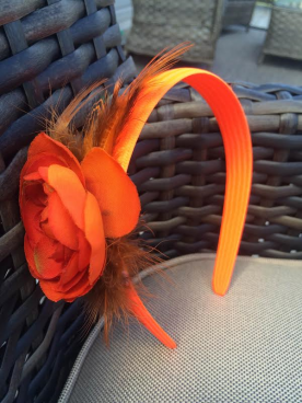 headband -orange
